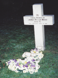 james-miller-ward-junior-grave